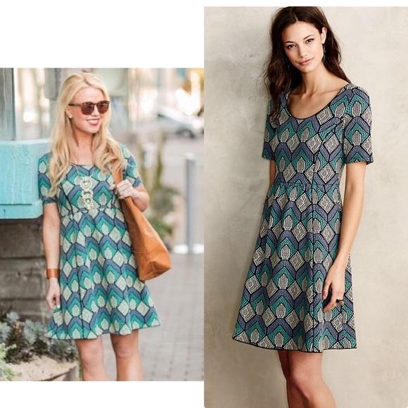 3cc0bed345e4f Anthropologie Dresses & Skirts - Anthropologie Hollyhock Dress